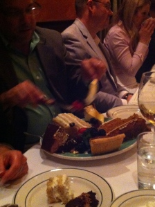 A plethora of desserts...