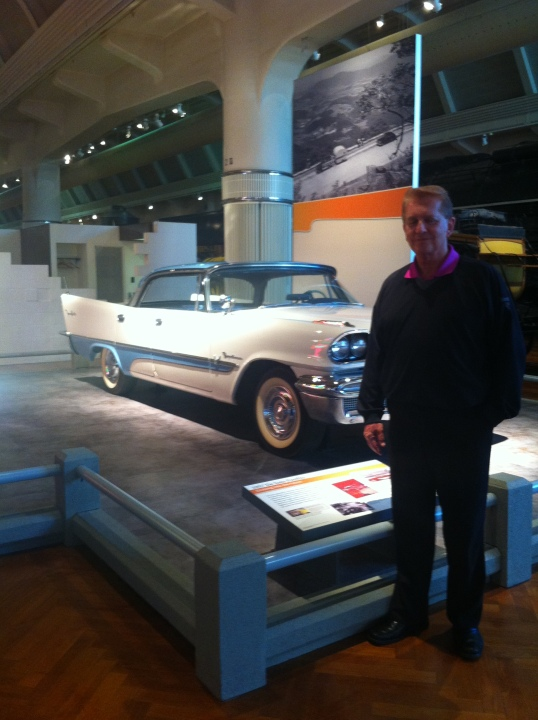 Dad, at The Henry Ford