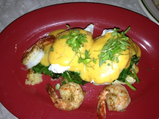 Thai style Eggs Benny at Toast.