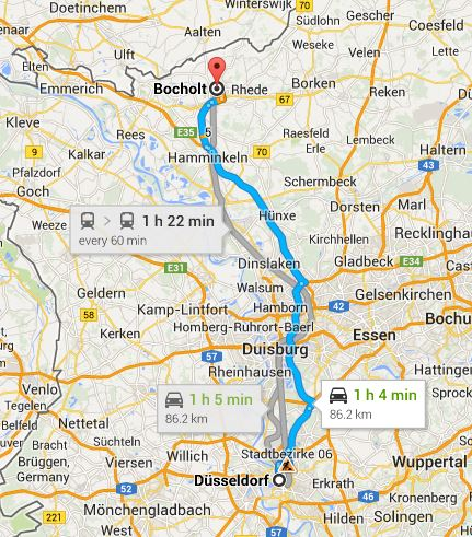 Breakfast for dinner at lunchtime at siebelts bocholt germany map sciox Images