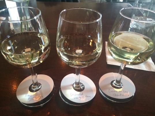 Borgo Pinot Grigio, Dashwood Sauvignon Blanc, and Crème de Lys Chardonnay.
