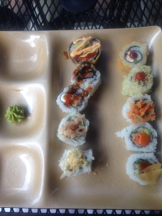 Maki platter!